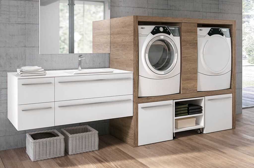 Lavelli per lavanderia e cucina a padova e venezia - Arredo per lavanderia di casa ...